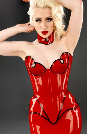 Latex Corset by Inner Sanctum