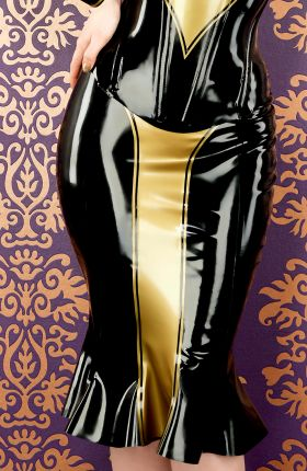 Latex Skirt by Inner Sanctum